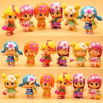 5~10pcs/set High Quality Cute Pinypons Detachable Toy LOLS Dolls Original Cartoon Anime Action Figures Kids Toys Gift high quality original fake kaws pinocchio puppet standingtype 25cm viny pvc resin action figures fashion toys