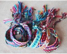 Handmade Bracelet Summer Beach Bohemian National Braided Rope Winding Friendship Ladies Men