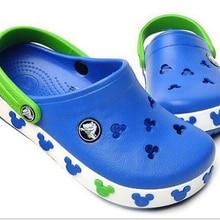 2020 Summer girls boys Kids children's beach sandals baby rubber Hole clogs