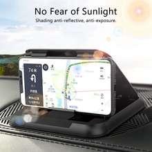 """Автомобильный держатель gps из углеродного волокна, автомобильный держатель для приборной панели, автомобильный держатель для телефона, вращение на 360 градусов для телефона 3,5-6,"""" для iPhone для Xiaomi"""