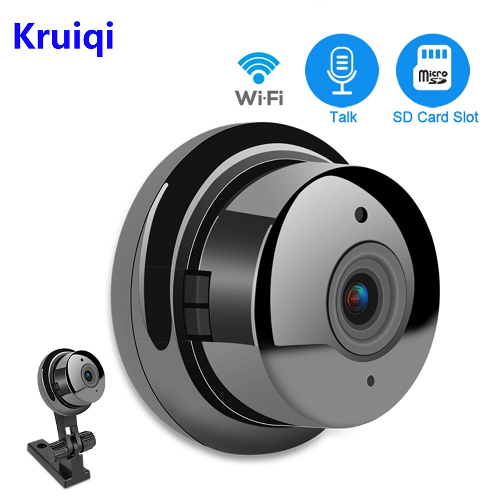 Kruiqi Mini HD 960P Wireless WIFI IP Camera Infrared Night Vision Micro Camera Home Security Surveillance Wifi Camera