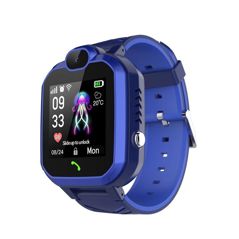 DS69 Kids Smart Watch LBS IP67 Waterproof Tracker SOS Call Phone Children Wrist Watch Smartwatch Girls Boys Birthday Gifts New