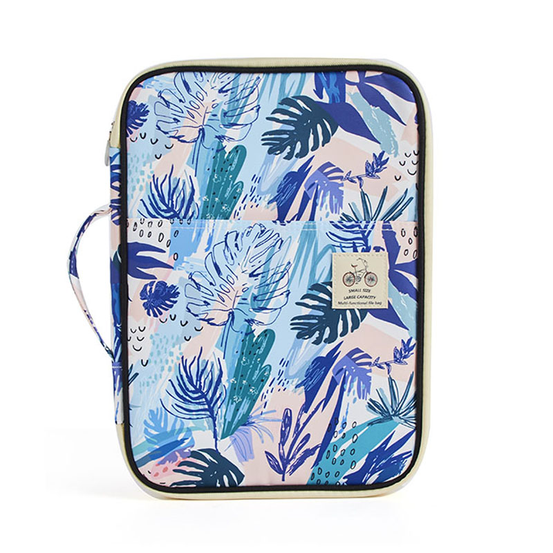 New Multi-Functional A4 Document Bags Portfolio Organizer-Waterproof Travel Pouch Case For Ipads, Notebooks, Pens, Documents
