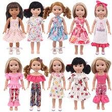 Accessoires de poupée de 14 pouces, vêtements pour poupées américaines de 18 pouces et poupées de bébé de 43cm, meilleurs cadeaux pour une génération de G