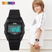 2020 SKMEI 5Bar Waterproof Wristwatch For Boys Girls Electronic Clock Children Digital Watch Military Kids Sport Watches 1614