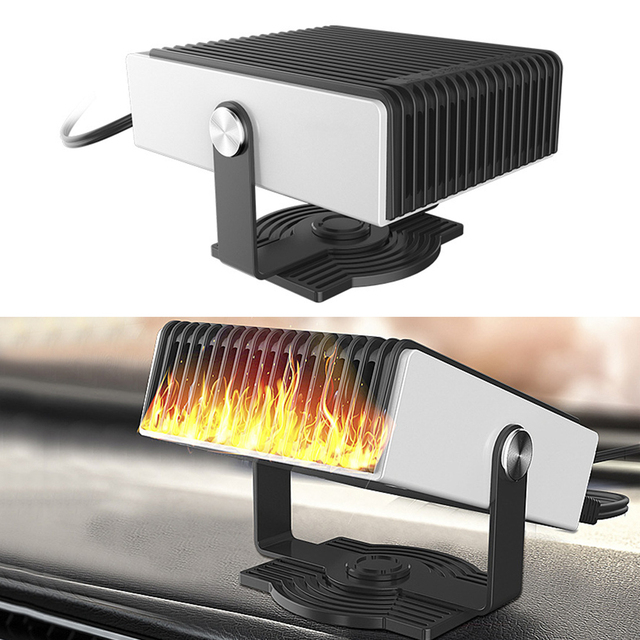 12V 150W Car Heater Car Defroster Winter Auto Electric Stove Fan Heating Cooling Integrated Defrosting Car Window Snow Defogger