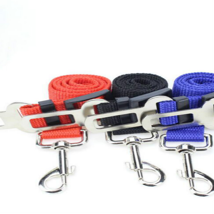 Pet Car Fixing Band Dog Cat Fixed Rope Car Mounted Hand Holding Rope Extendable Car Traction Belt