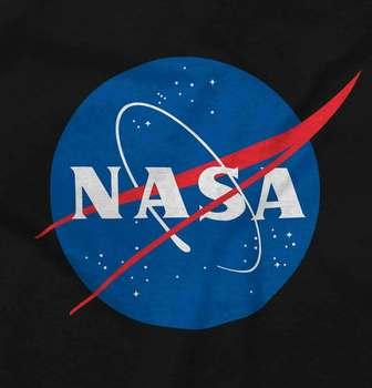 Zatwierdzone przez NASA Logo klopsa Program kosmiczny damska lub męska koszulka z okrągłym dekoltem tanie i dobre opinie Na zakupy CN (pochodzenie) Na wiosnę i lato Z okrągłym kołnierzykiem tops SHORT COTTON Na co dzień Drukuj