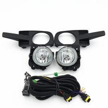 Farol de halogênio para carro, lâmpada para farol de milha 2006-2008, montagem de h11 12v 55w com kit de fiação frete grátis 252