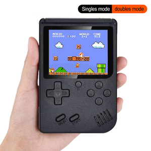 Retro Portable Gameboy Mini Handheld Game Console 1020mAh Battery 3.0 Inch Color LCD Kids Color Game Player Built-in 400 games