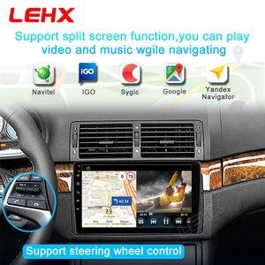 Image 3 - 2 Din Android 9.0 radyo Stereo GPS navigasyon için BMW E46 M3 Rover 75 Coupe 318/320/325/330/335Car radyo multimedya Video oynatıcı