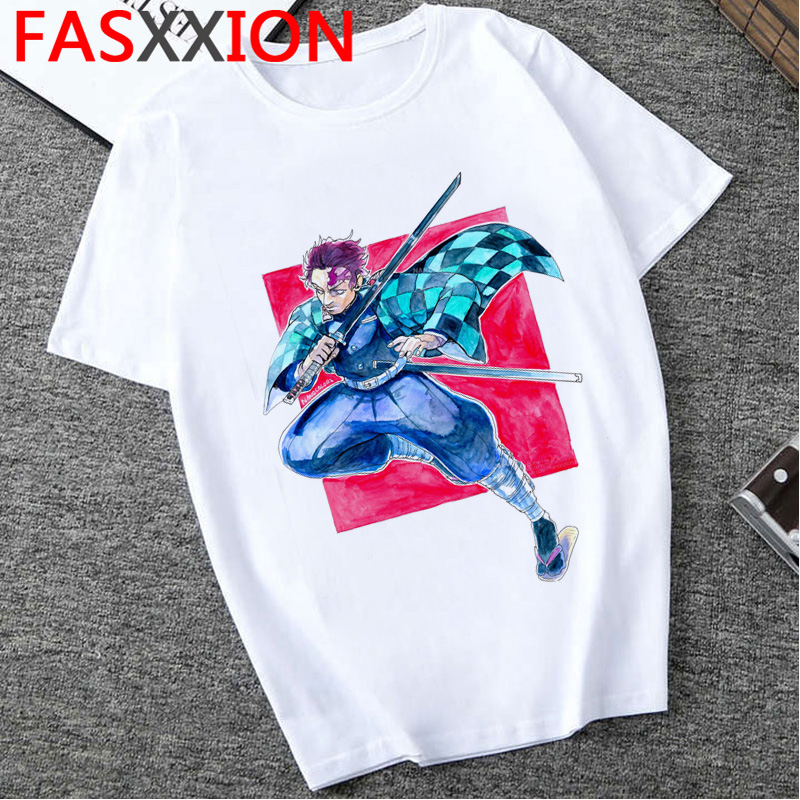 H48af52e53b784ab7b6325cc5758a2410p - Demon Slayer T-shirt  Graphic Tees Men Streetwear  Japanese Anime Cool Tshirt Funny Cartoon Kimetsu No Yaiba T Shirt Male