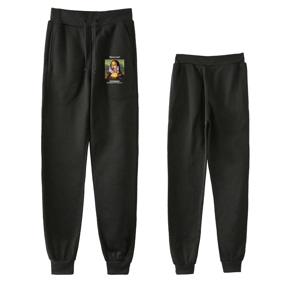 Famous Painting Pants Women Hip Hop Pants Trousers Kpop Fashion Casual High Quality New Casual Warm Pants Slim Kpop Pants