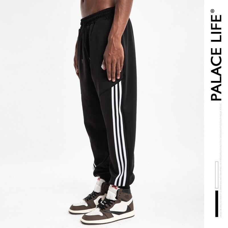 1390.82руб. 40% СКИДКА|Palacelife популярная брендовая мужская одежда треугольный логотип шарнир три рычага петля ворс тренировочные брюки для мужчин и женщин пары луч ноги Casu|Плавки и пляжные шорты| |  - AliExpress