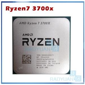 Image 1 - AMD Ryzen 7 3700X R7 3700X 3.6 GHz 7NM L3 = 32M 100 000000071 sekiz çekirdekli Sinteen dişli CPU İşlemci soket AM4