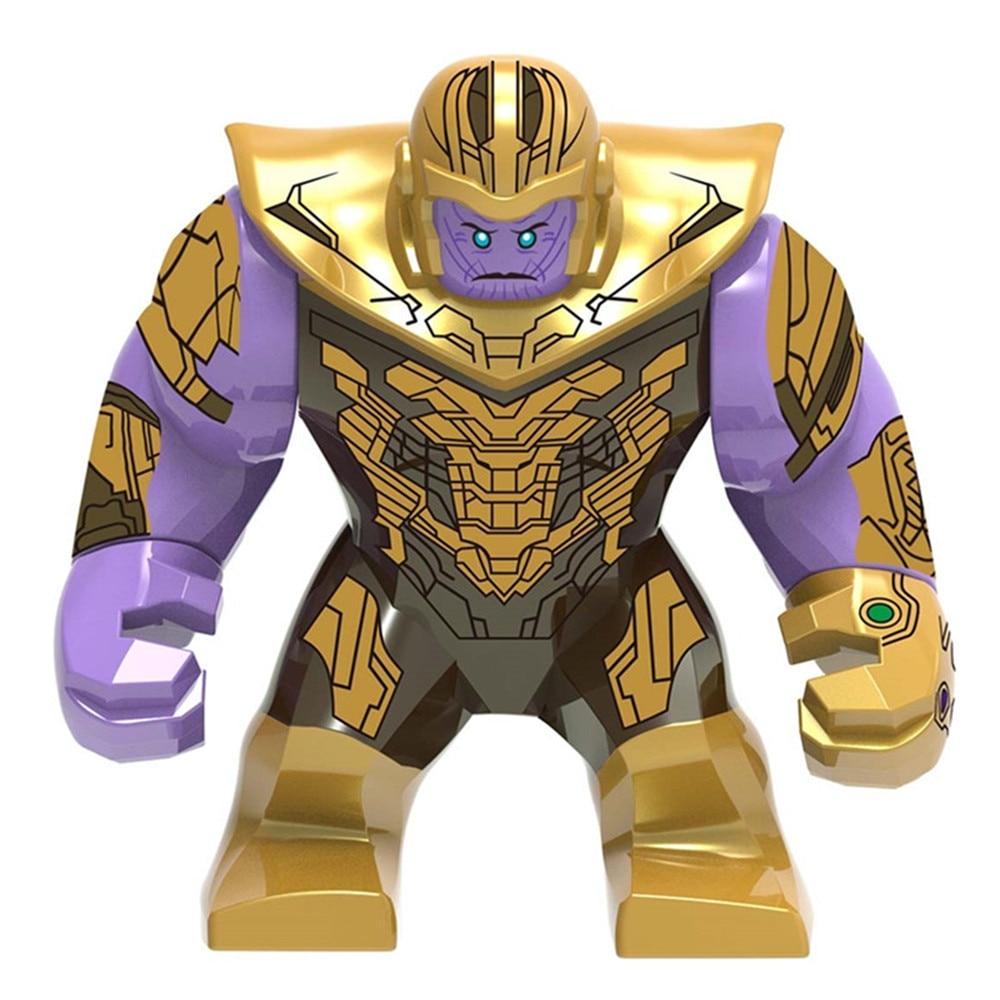 Avengers Thanos Hulk Captain America Thor Ant-man Black Widow Iran Man Building Blocks Kids Toys Gifts
