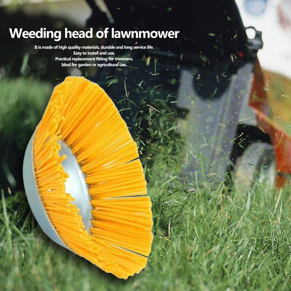 grama trimmer roda aço poeira oxidação remoção