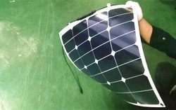 Wholesale 12v 18v 50w sun power /sunpower flexible solar panel 100w equal 2pcs of 50w