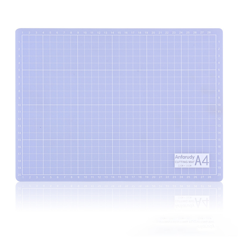 Cutting Board A4 Transparent Cutting Pad Translucent Cutting Pad Diy Manual Model Paper Cutting Self-repairing Cutting Pad