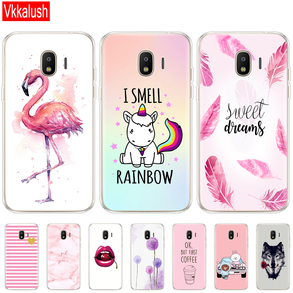 Phone Cases for <font><b>samsung</b></font> <font><b>J2</b></font> <font><b>2018</b></font> case Slicone Fashion back cover for <font><b>Samsung</b></font> <font><b>Galaxy</b></font> <font><b>j2</b></font> <font><b>2018</b></font> <font><b>SM</b></font>-<font><b>J250F</b></font> case New design shockproof image