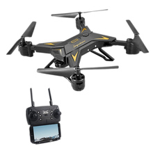 KY601S HD Wide Angel Camera WIFI FPV Quadcopter Toy RC Drone APP Control Helicopter, 500W 1080P WIFI FPV Camera Black
