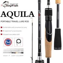 ANYFISH AQUILA Travel Fishing Rod Spinning Carbon lure rod U