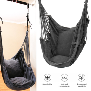 No Pillow Child/Adult Hammock 270 Hanging Rope Hammock Chair Swing Seat Large Hammock Chair Relax Hanging Swing Chair for Indoor(China)