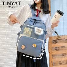 Женские рюкзаки для ноутбука tinyat школьные отдыха подростковые