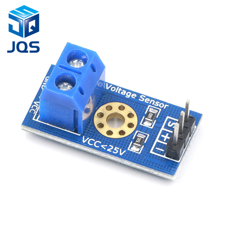 Smart Electronics DC 0-25V Standard Voltage Sensor Module Test Electronic Bricks Smart Robot For Arduino Diy Kit
