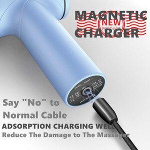 Image 2 - Пистолет для мышечного массажа, фасцирующий пистолет, массажер для спортивной терапии, релаксации, облегчения боли, похудения, массажер с магнитным зарядным устройством