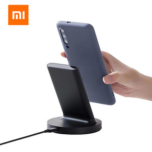 Image 3 - Original Xiaomi Vertical Wireless Charger 20W Stand Horizontal For Mi 9 (20W) MIX 2S / 3 / S10 (10W) Qi Compatible Multiple Safe
