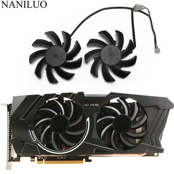 2Pcs/Lot 85mm FDC10H12S9-C HD 6850 6970 7870 For Sapphire HD6850 HD6970 HD7870 HD7950 HD7970 Graphics Cooler VGA Card cooling image