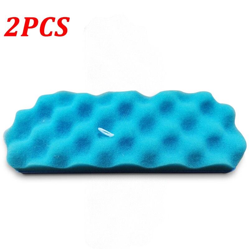 2PCS Blue Sponge Hepa Filters H13 For Samsung DJ97-01670B SC8810 SC8830/50/70 Series Robot Vacuum Cleaner Parts Accessories
