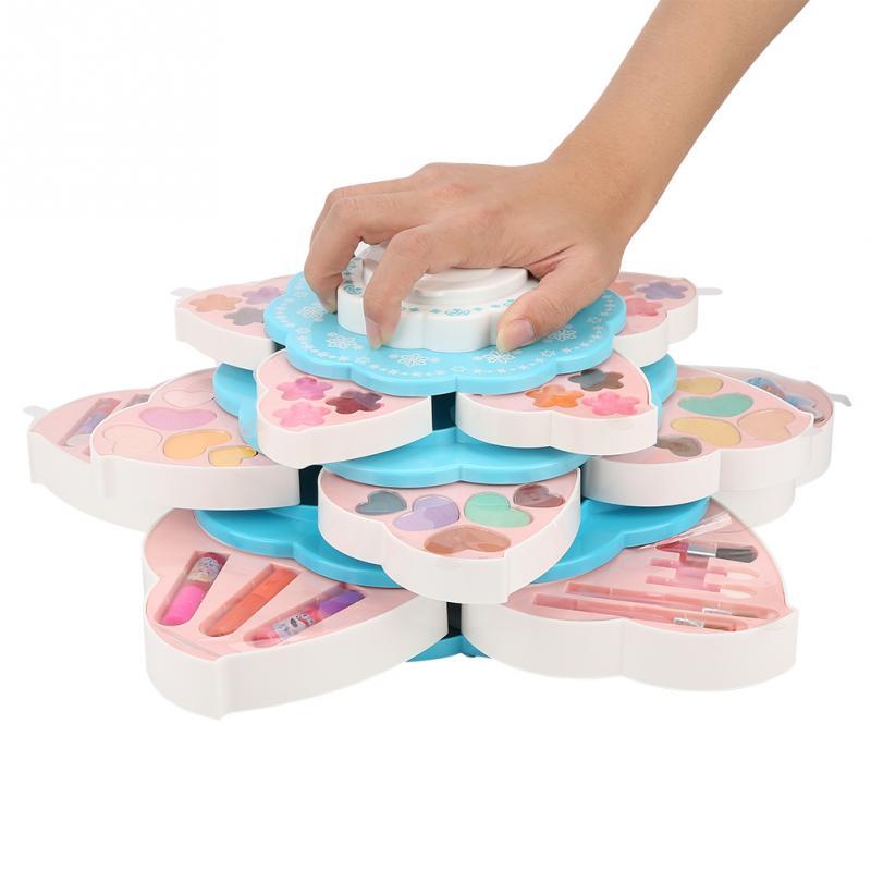 Игрушки тщеславие Красота косметический набор Ролевые игры Макияж фен составляют подарочный набор детей Обувь для девочек Игрушечные лоша... - 3