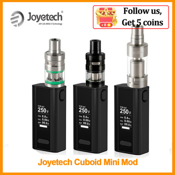 [RU] Simple Package Original Joyetech Cuboid Mini Battery 80W Built in 2400mAh VT/TC Vape Mod In LycheTank VS Gen3 dual E-Cig original ehpro 2 in 1 fusion 150w tc kit max 150w w fusion mod