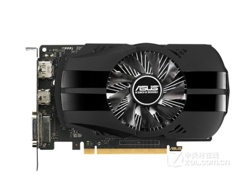 Asus PH-GTX1050TI-4G PHOENIX Phoenix Edition 4G game graphics low power consumption used 90%new image