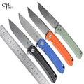 CH CH3002 легкий мягкий складной нож D2 лезвие G10 ручка шарикоподшипник Кемпинг Открытый EDC инструменты 3002