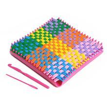 Многоцветная ткацкая эластичная веревка быть Riotous с цветом новизны в стиле манипулятивности обучения для самостоятельного изготовления 185x185x30 мм