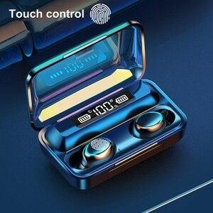 Image 1 - Tws Bluetooth Compatibel Oordopjes 2200Mah Opladen Doos Draadloze Hoofdtelefoon 9D Stereo Sport Waterdichte Oordopjes Headsets Met Microfoon
