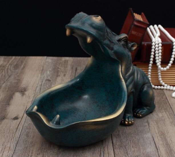 Jóias de Escultura Estátua Cinzeiro Decoração Da