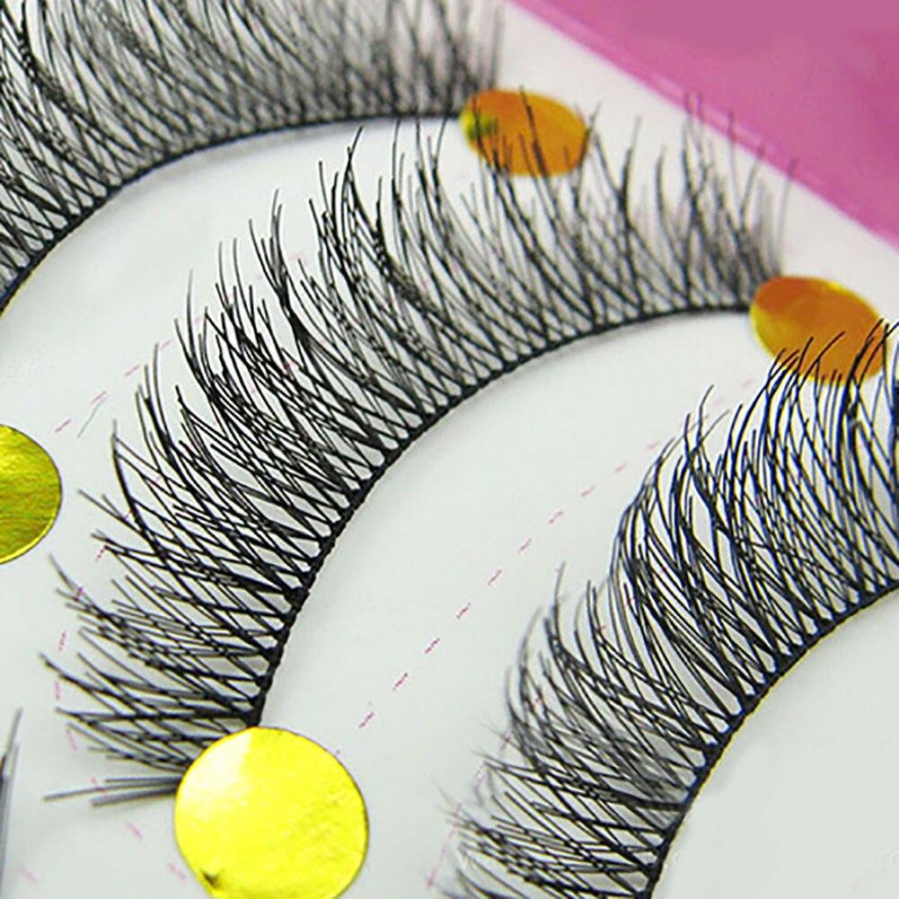10 пар настоящие 3D норковые ресницы мягкие натуральные накладные ресницы макияж длинный макияж красота ресницы инструмент для наращивания ...