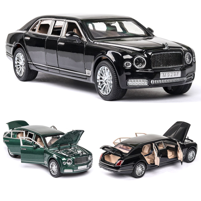 1:24 Bentley Mushang S600 Metal Car Model Car Die Cast Alloy Car Car Model Children's Toy Collectibles Free Shipping