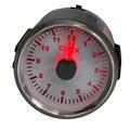 Часы для автомобиля, лодки, яхты, 0-12 часов, 52 мм, с красной подсветкой, 9-32 В