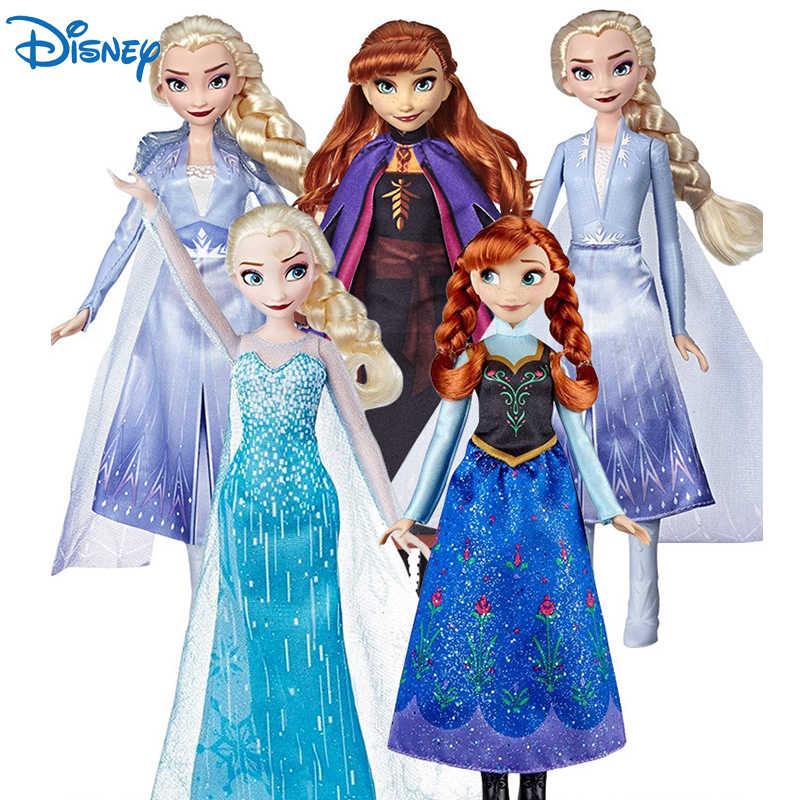orijinal orijinal disney dondurulmus klasik prenses anna elsa kiz bebek bebek modeli hareketli eklemler kizlar oyuncaklar cocuklar noel hediyesi