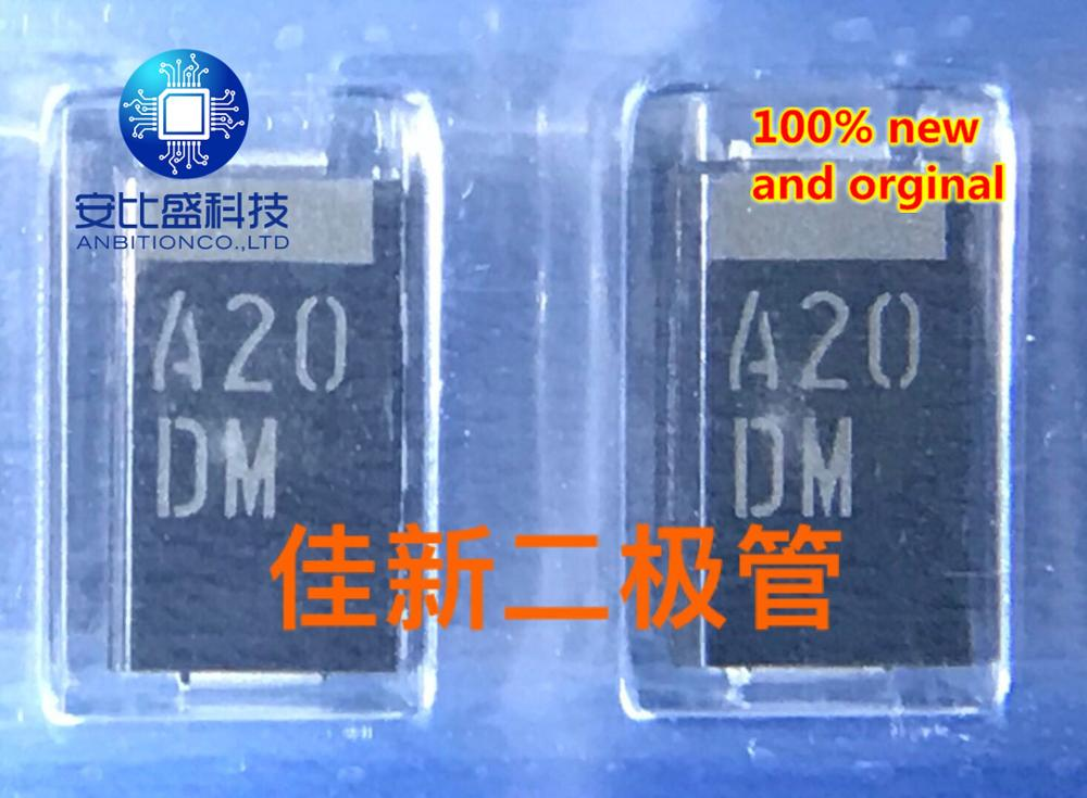30pcs 100% New And Orginal DAM3MA20  20V Vehicle High Power TVS Protection Tube Model Code A20DM   In Stock