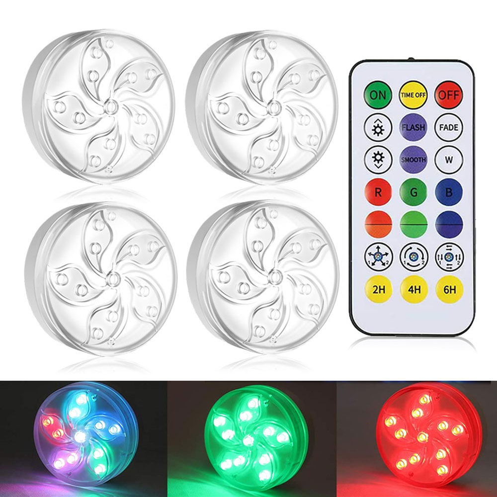 Waterproof Dimmable LED Under Cabinet Light LED Kitchen Closet Bedroom Lighting Decoration Magnetic Suction Dream RGB Night Lamp