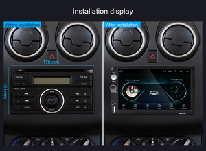 Image 2 - Podofo 2din Autoradio Android 2 Din Car Multimedia Player Gps 2 Din Audio Stereo Voor Volkswagen Nissan Hyundai Kia toyota Seat