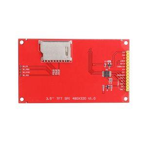 "Image 5 - 3.5 ""pollici 480*320 MCU Seriale SPI TFT LCD Modulo Display con Touch Panel Build in driver ILI9486 Dropship"