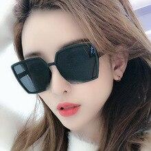 Trendy Hexagon Sunglasses Women Colorful Gradient Sun Glasses Female UV400 Mirror Eyewear Retro Irregular Octagon Sunglases