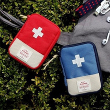Buy Outdoor First Aid Kit Bag Portable Pouch Travel Camping Survival Medicine Package Small Medicine Divider Storage Organizer directly from merchant!